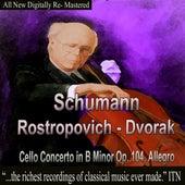 Schumann, Dvorak - Rostropovich de Mstislav Rostropovich
