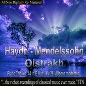 Oistrakh - Haydn, Mendelssohn - Piano Trio, No. 44 in E Hob XV 28 Allegro moderato by David Oistrakh