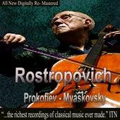 Rostropovich - Prokofiev, Miaskovsky de Mstislav Rostropovich
