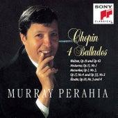 Ballades; Waltzes Op.18 & 42; Nocturne, Op.15 No.1; Mazurkas Op.7 No.3, Op.17 No.4, Op.33 No.2; Etudes Op.10 Nos.3 & 4 von Murray Perahia