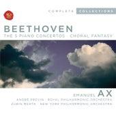 Beethoven, Piano Concertos 1-5; Choral Fantasia by Emanuel Ax