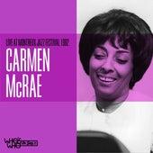 Carmen McRae Live at The Montreaux Jazz Festival 1982 de Carmen McRae