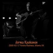 2000-02-17 Variety Playhouse, Atlanta, GA (Live) by Jorma Kaukonen