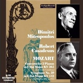 Mitropoulos, Robert and Gaby Casadesus plays Mozart by New York Philharmonic