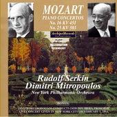 Mozart Piano Concertos 16 and 25 de New York Philharmonic