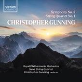 Christopher Gunning: Symphony No. 5 & String Quartet No. 1 von Royal Philharmonic Orchestra