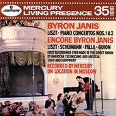 Liszt: Piano Concertos Nos. 1 & 2; Encores by Byron Janis