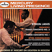 Prokofiev: Piano Concerto No.3 / Rachmaninov: Piano Concerto No.1 etc. by Byron Janis