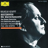 Beethoven: Concertos for Piano and Orchestra de Wilhelm Kempff