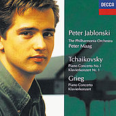 Tchaikovsky/Grieg: Piano Concerto No. 1 in B flat minor, Op. 23/Piano Concerto in von Peter Jablonski