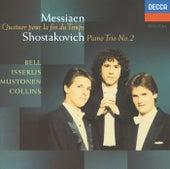 Messiaen: Quatuor pour le fin du temps / Shostakovich: Piano Trio No.2 de Olli Mustonen