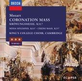 Mozart: Coronation Mass/Missa Solemnis/Mass in C von Choir of King's College, Cambridge