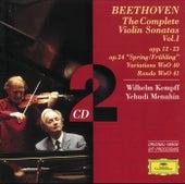 Beethoven: The Complete Violin Sonatas Vol.I by Yehudi Menuhin