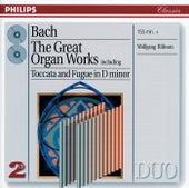 Bach, J.S.: Great Organ Works by Wolfgang Rübsam