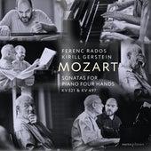 Mozart: Sonatas for Piano Four Hands, K. 521 & 497 by Ferenc Rados