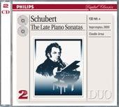 Schubert: Late Piano Sonatas von Claudio Arrau