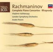Rachmaninov: Complete Piano Concertos/Rhapsody on a Theme of Paganini de Vladimir Ashkenazy