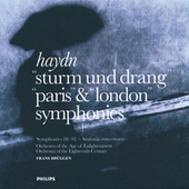 Haydn: Symphonies - Sturm und Drang, Paris & London by Orchestra Of The Age Of Enlightenment