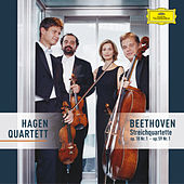 Beethoven: String Quartets Op. 18 No. 1 & Op. 59 No.1 by Hagen Quartett