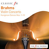 Brahms Violin Concerto: Hungarian Dances Nos. 1 - 10 by Joshua Bell