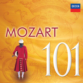 101 Mozart de Various Artists