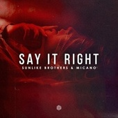 Say It Right von Sunlike Brothers