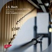 J.S. Bach: Lute Suite in E Minor, BWV 996: II. Allemande von Arjan Jongsma