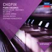 Chopin: Piano Encores de Claudio Arrau