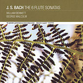 J. S Bach: The 6 Flute Sonatas by William Bennett