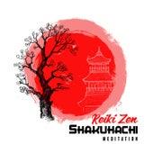 Reiki Zen Shakuhachi Meditation - Traditional Japanese Music, Relaxing Nature Sounds for Calm by Japanese Zen Shakuhachi