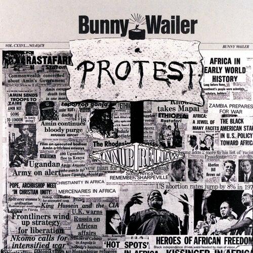 Protest van Bunny Wailer