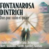 Duos-Oeuvres de vivaldi,paganini,falla, sarasate, ibert, granados, etc by Michel Dintrich