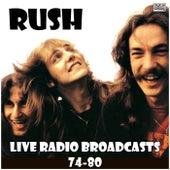 Live Radio Broadcasts 74-80 (Live) de Rush