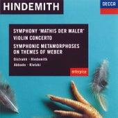 Hindemith: Violin Concerto; Symphonic Metamorphoses on Themes of Weber etc. de David Oistrakh