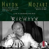 Haydn & Mozart: Piano Works (Live in Jouques & Zug) by Sviatoslav Richter