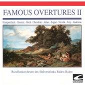 Famous Overtures II - Humperdinck - Rossini- Verdi - Cherubini - Adam - Suppe - Nicolai - Jary - Anderson (feat. Klaus Arp) by Rundfunkorchestra des Sudwestfunks Baden-Baden