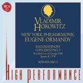 Rachmaninoff: Concerto No. 3; Sonata No. 2 by Vladimir Horowitz