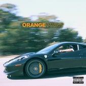 Orange Print by Larry June