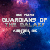 Guardians of The Galaxy Awesome Mix Vol. 1 fra One Piano
