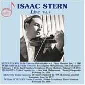 Isaac Stern, Vol. 8 (Live) de Isaac Stern