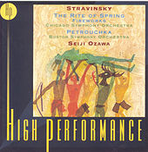 Stravinsky: Petrouchka, The Rite Of Spring, Fireworks by Seiji Ozawa
