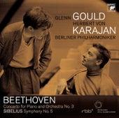 Beethoven Piano Concerto No. 3/Sibelius Symphonie No. 5 by Glenn Gould