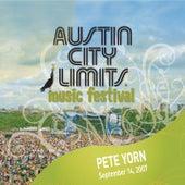 Live At Austin City Limits Music Festival 2007: Pete Yorn by Pete Yorn