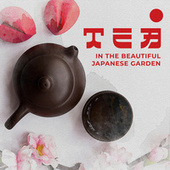 Tea in the Beautiful Japanese Garden by Japanese Zen Shakuhachi