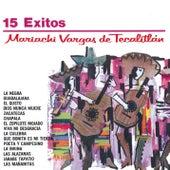 Serie Oro 15 Exitos Del Mariachi Vargas De Tecalitlan de Mariachi Vargas de Tecalitlan