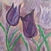 Purple Flowers von Brad