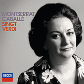 Montserrat Caballé singt Verdi von Montserrat Caballé