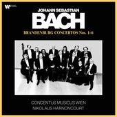 Bach, JS: Brandenburg Concertos Nos. 1 - 6 (Recorded 1981-82) von Nikolaus Harnoncourt