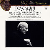 Tchaikovsky: Piano Concerto No. 1, NBC Symphony Orchestra; Mussorgsky: Pictures at an Exhibition by Vladimir Horowitz