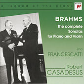Brahms: The Complete Sonatas for Piano and Violin by Daniel Barenboim